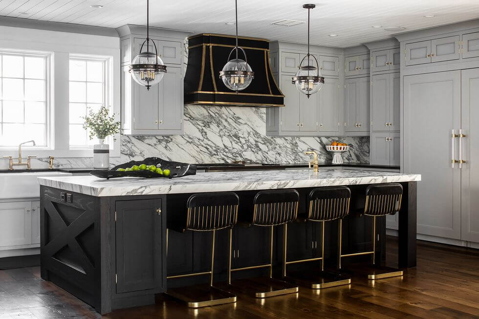 beautiful marble kitchen 2020